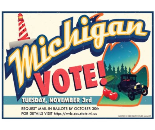 Get Out the Vote to Michigan