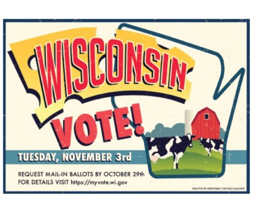 Get Out the Vote to Wisconsin